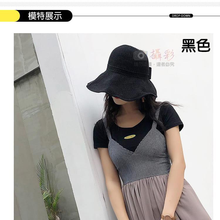 女用空頂遮陽帽 1