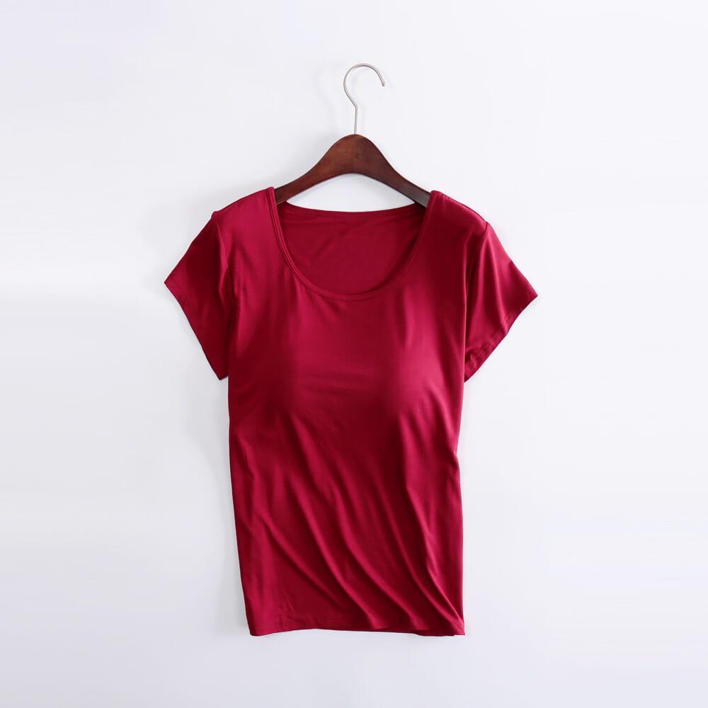 涼感萊卡免穿BRA T恤 11