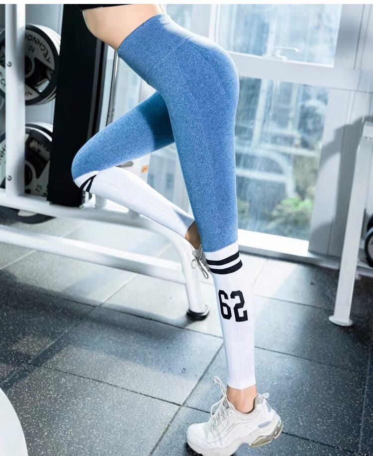 運動休閒長褲seamless 顯瘦修身 韻律有氧跑步瑜珈-KOI 3