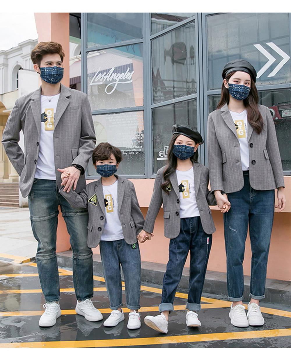 【英才星】SGS檢驗合格 經典小香風親子款綜合款口罩(50入)成人款/兒童款 不含偶氮色料及游離甲酫 7