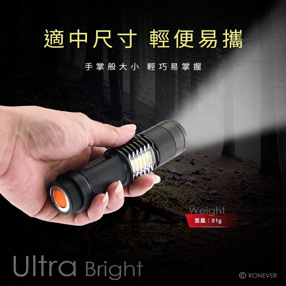 【RONEVER】PA-T6 COB工作燈手電筒 5
