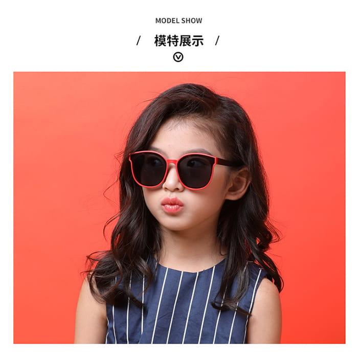 【suns】兒童時尚偏光墨鏡  抗UV (可扭鏡腳 鑑驗合格) 3