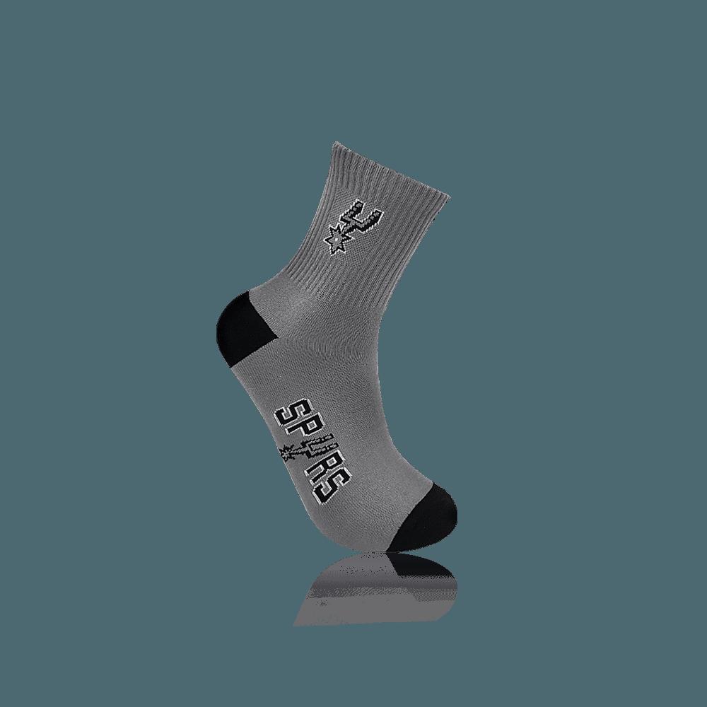 【NBA】球隊款緹花中筒襪 2