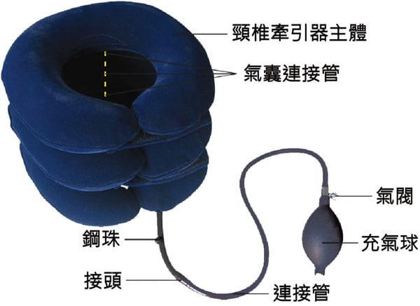 【居家醫療護具】【THC】充氣式頸椎牽引器頸圈 2