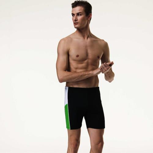 【SARBIS沙兒斯】泡湯加大五分泳褲附泳帽B53813 1