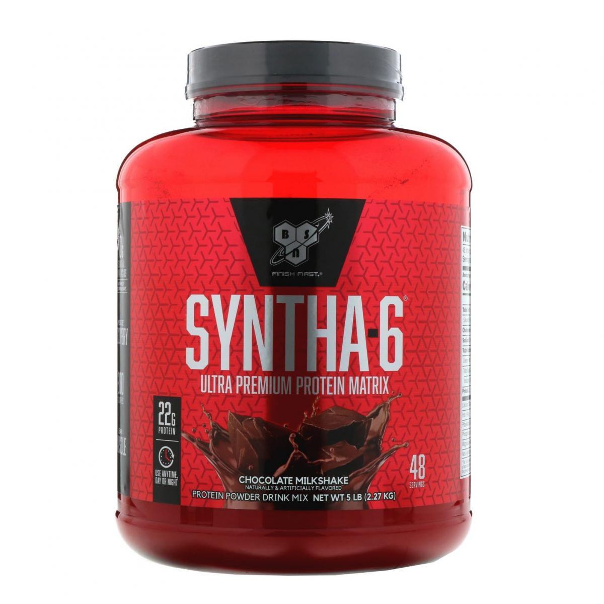 [美國BSN官方授權經銷] Syntha 6 頂級綜合乳清蛋白 5磅 乳清 高蛋白 添加酪蛋白 0
