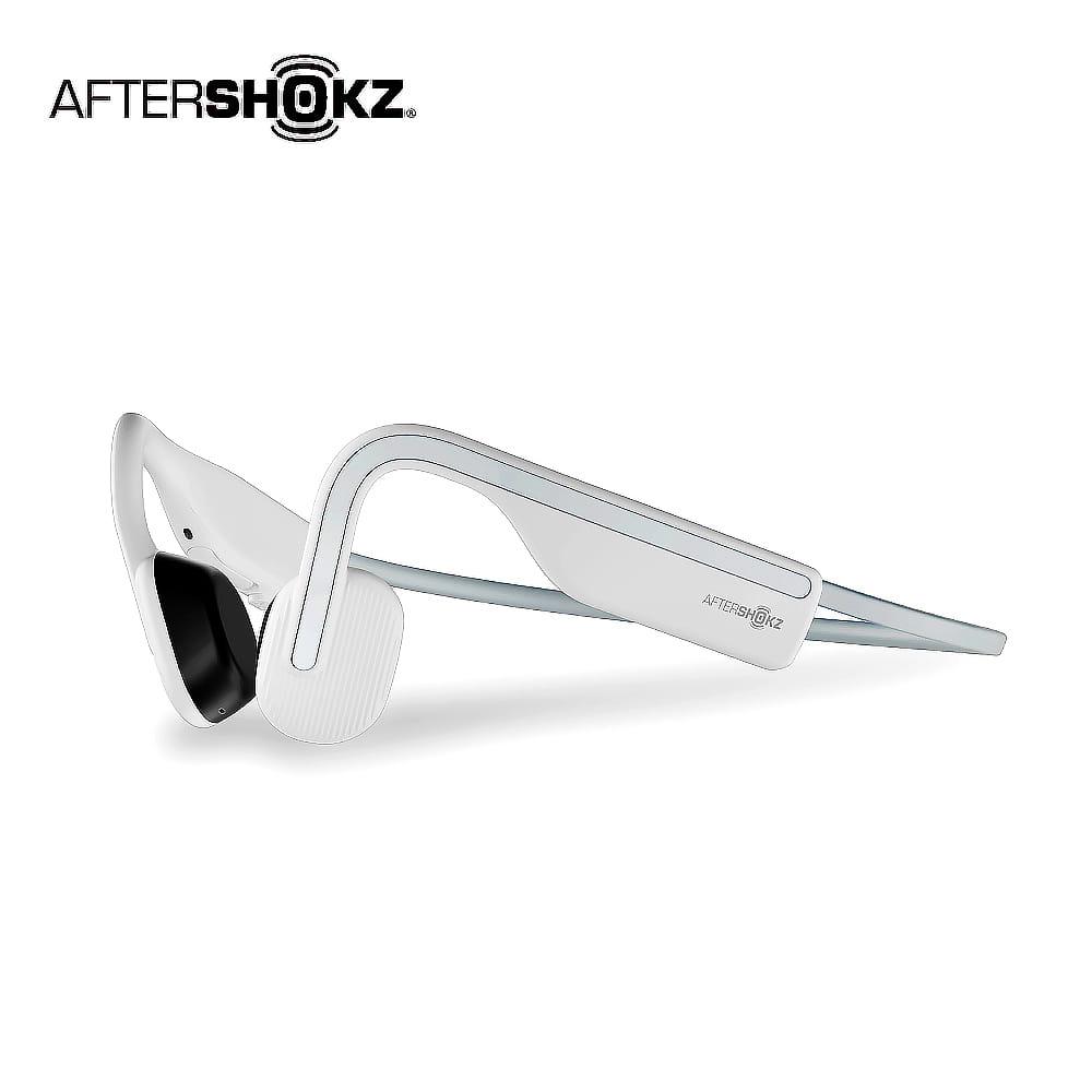【AFTERSHOKZ】OPENMOVE AS660骨傳導藍牙運動耳機(純真白)