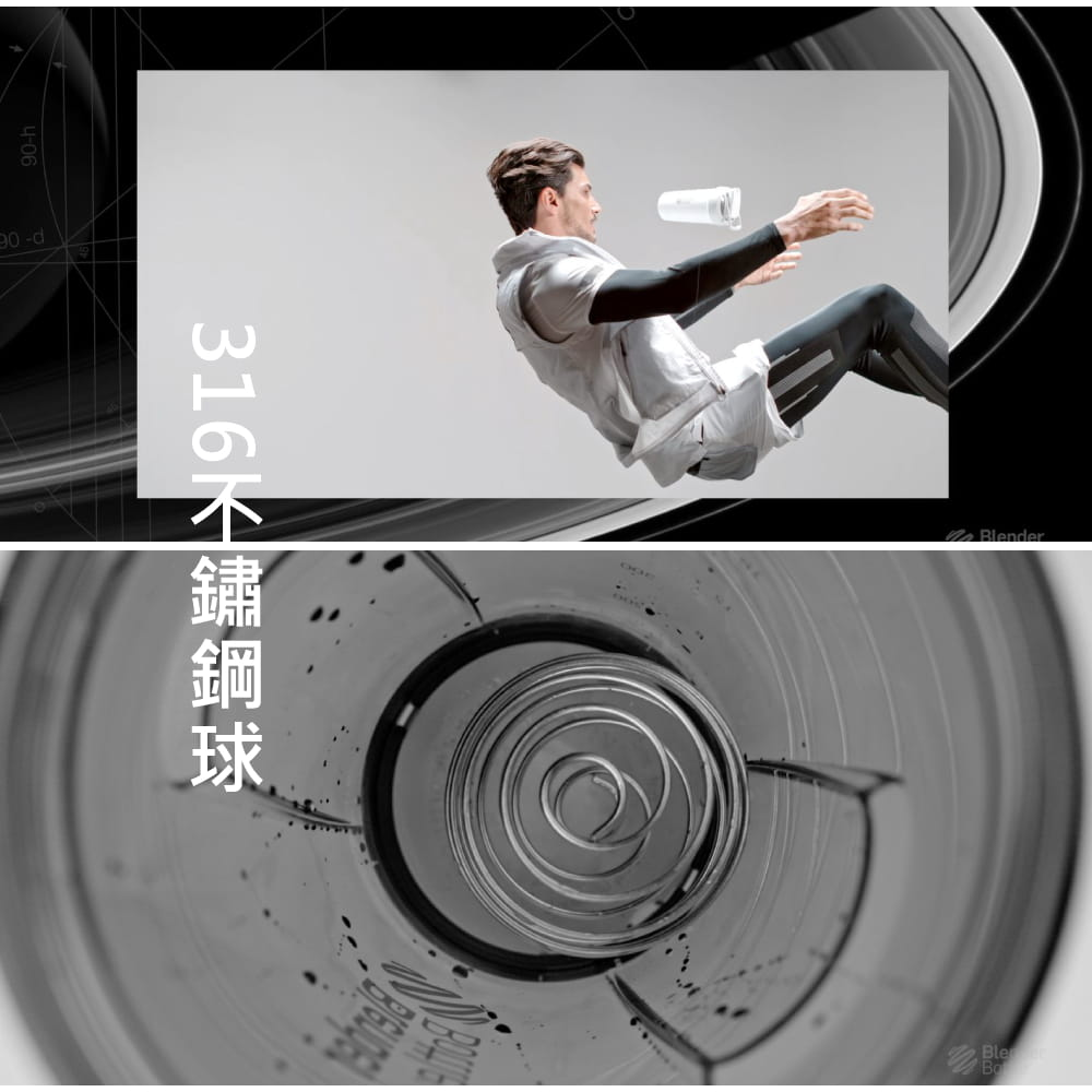 【Blender Bottle】Strada系列|雙層不鏽鋼|卓越搖搖杯|24oz|5色 4