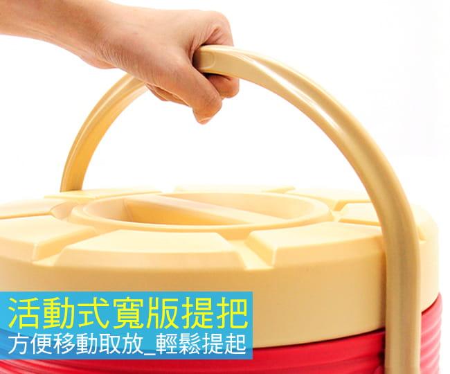304不鏽鋼13L茶水桶   (13公升冰桶開水桶.保溫桶保溫茶桶) 6