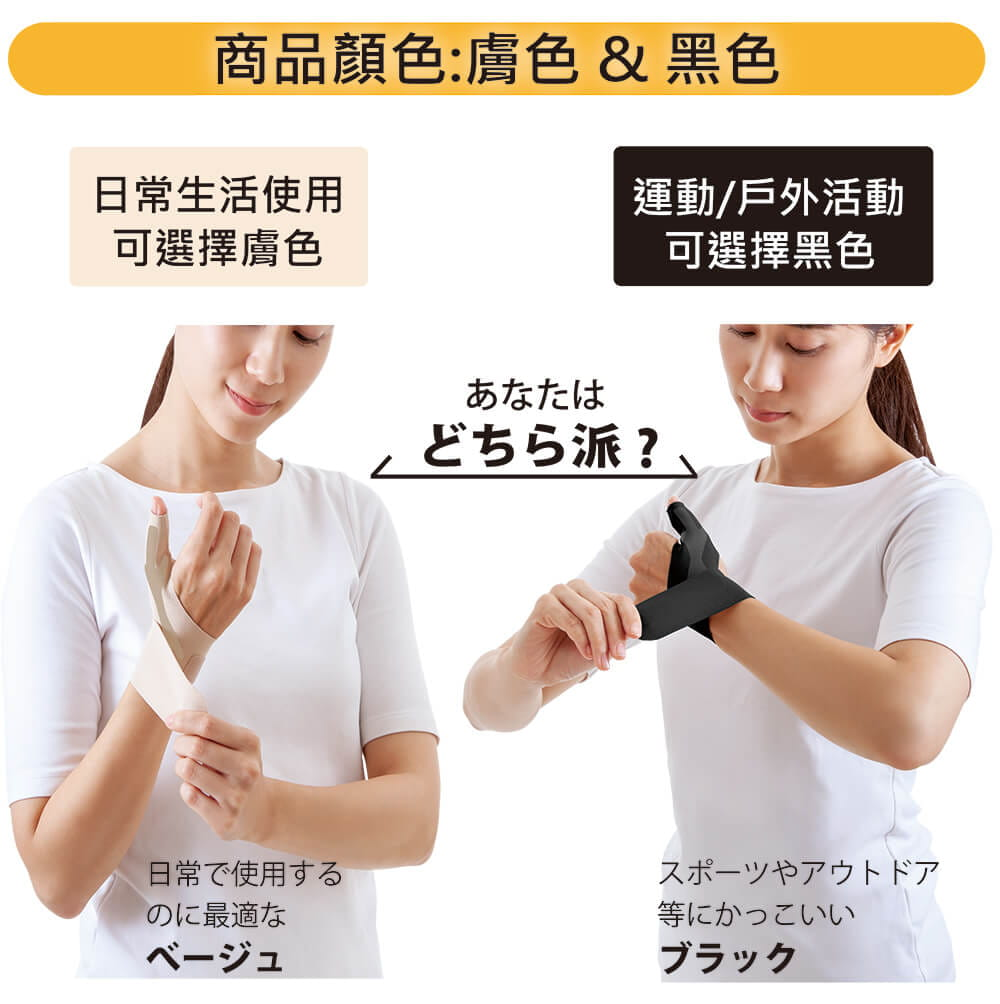 【Alphax】日本製 NEW醫護拇指護腕固定帶 6