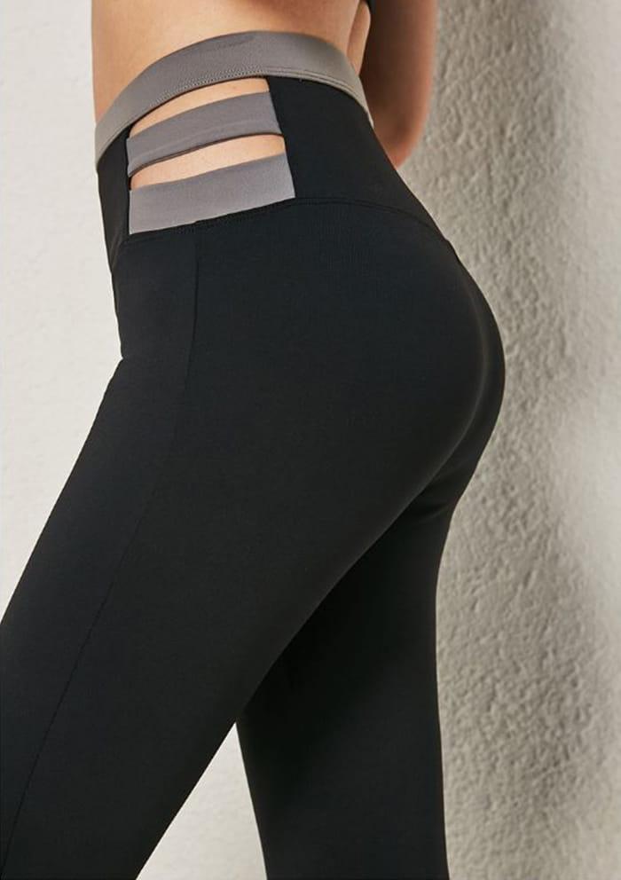 小臀超彈力高腰修身瑜珈褲-2色 9