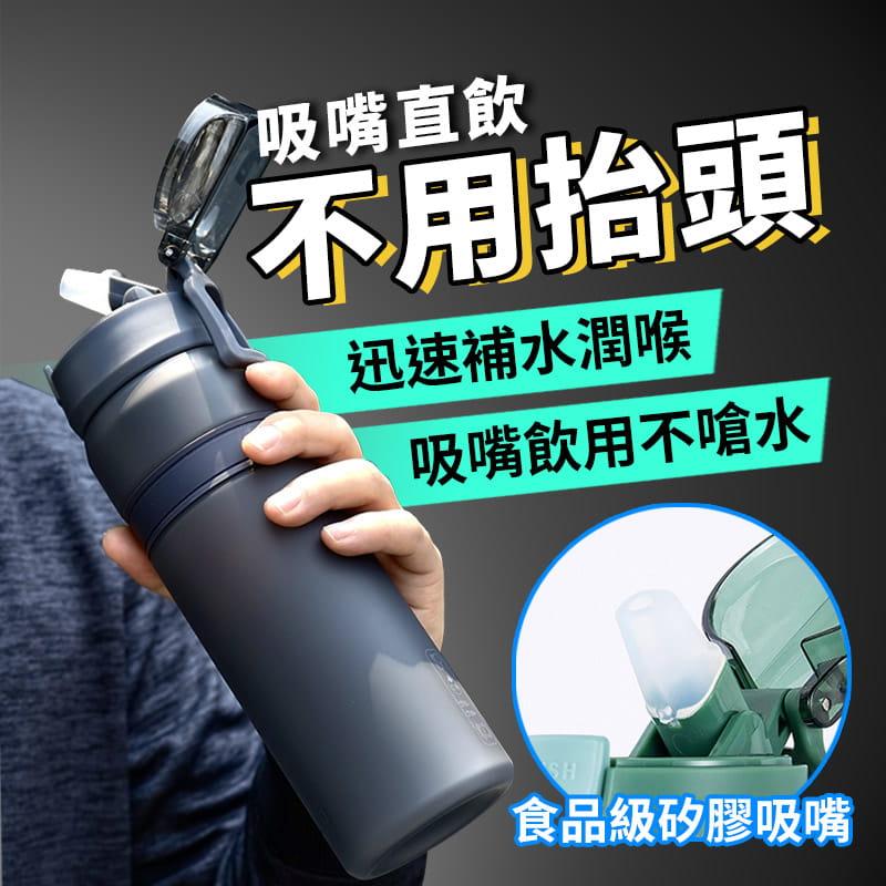進口Tritan材質運動吸管水壺 3