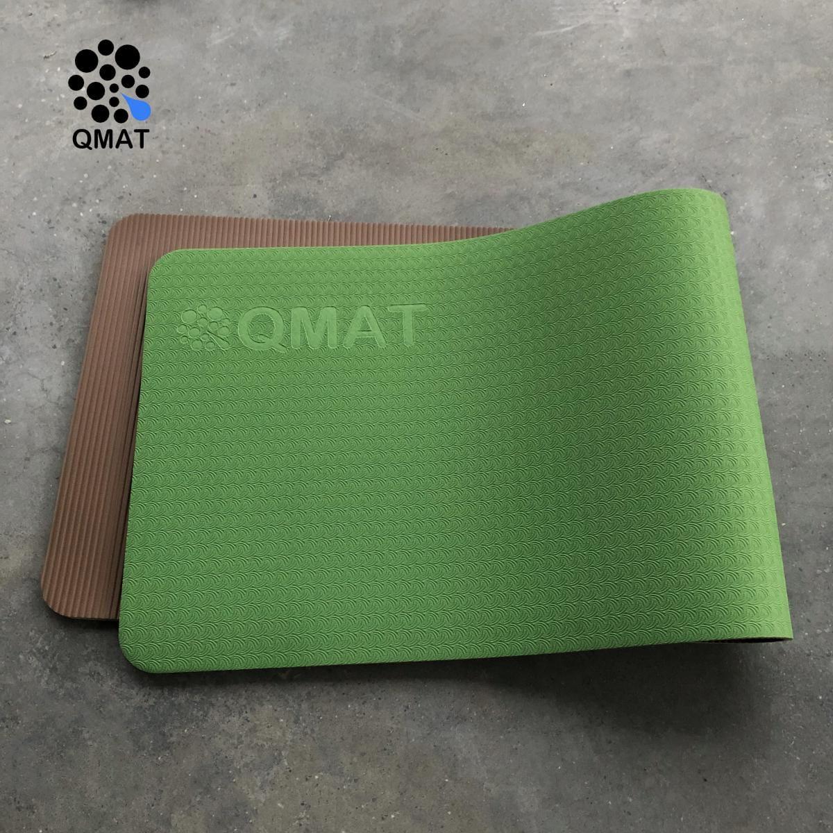 【QMAT】 10mm 雙色運動墊(共六色) 19