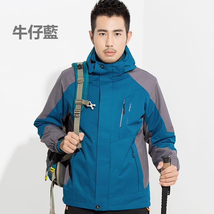 防水保暖禦寒衝鋒外套|三穿 14