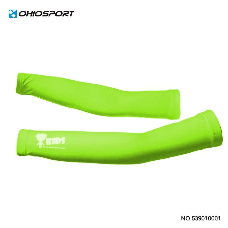 【OHIOSPORT】基本型兒童袖套 》★果綠 ★紅色 539010001 0