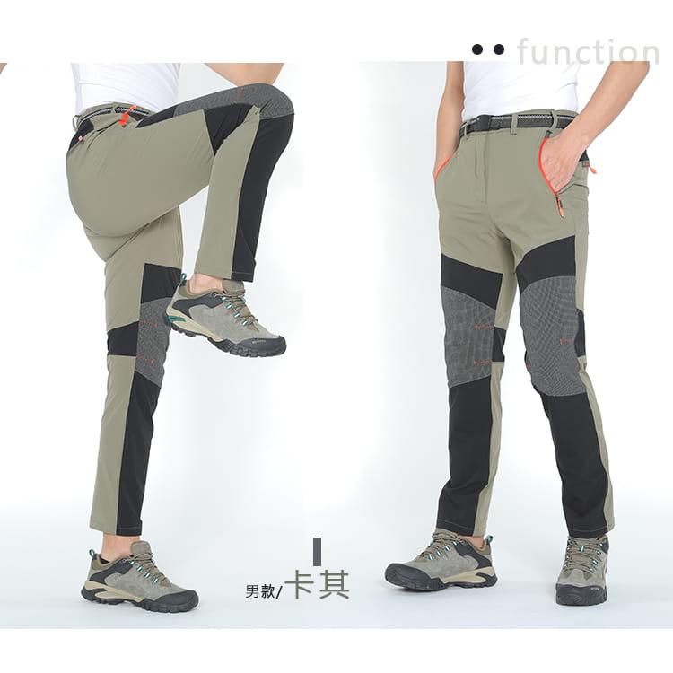 薄款拼色超彈力速乾褲 加大碼工作褲休閒褲 M-8XL碼【CP16046】 13