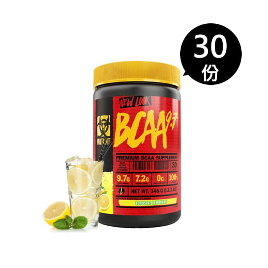 MUTANT支鏈胺基酸348g_清新檸檬