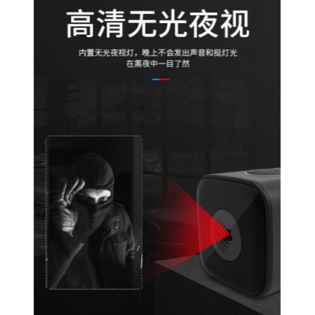 迷你監視器 I高清磁吸密錄器 廣角微型攝影機 夜視無光 支援128G 移動偵測 監視器 手機連結 6