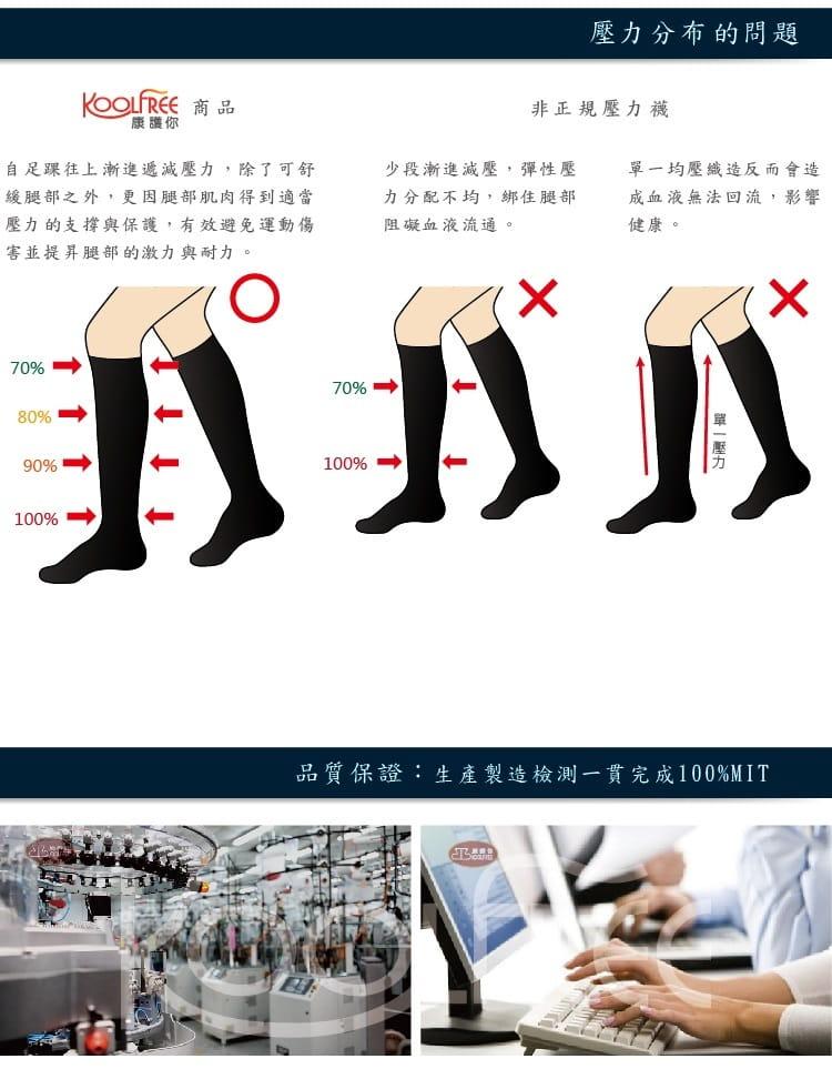 運動壓縮護踝短襪【旅行家】 4