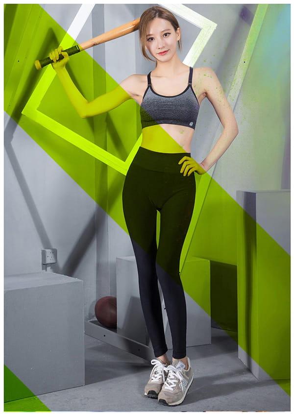 高腰運動健身壓力褲 5
