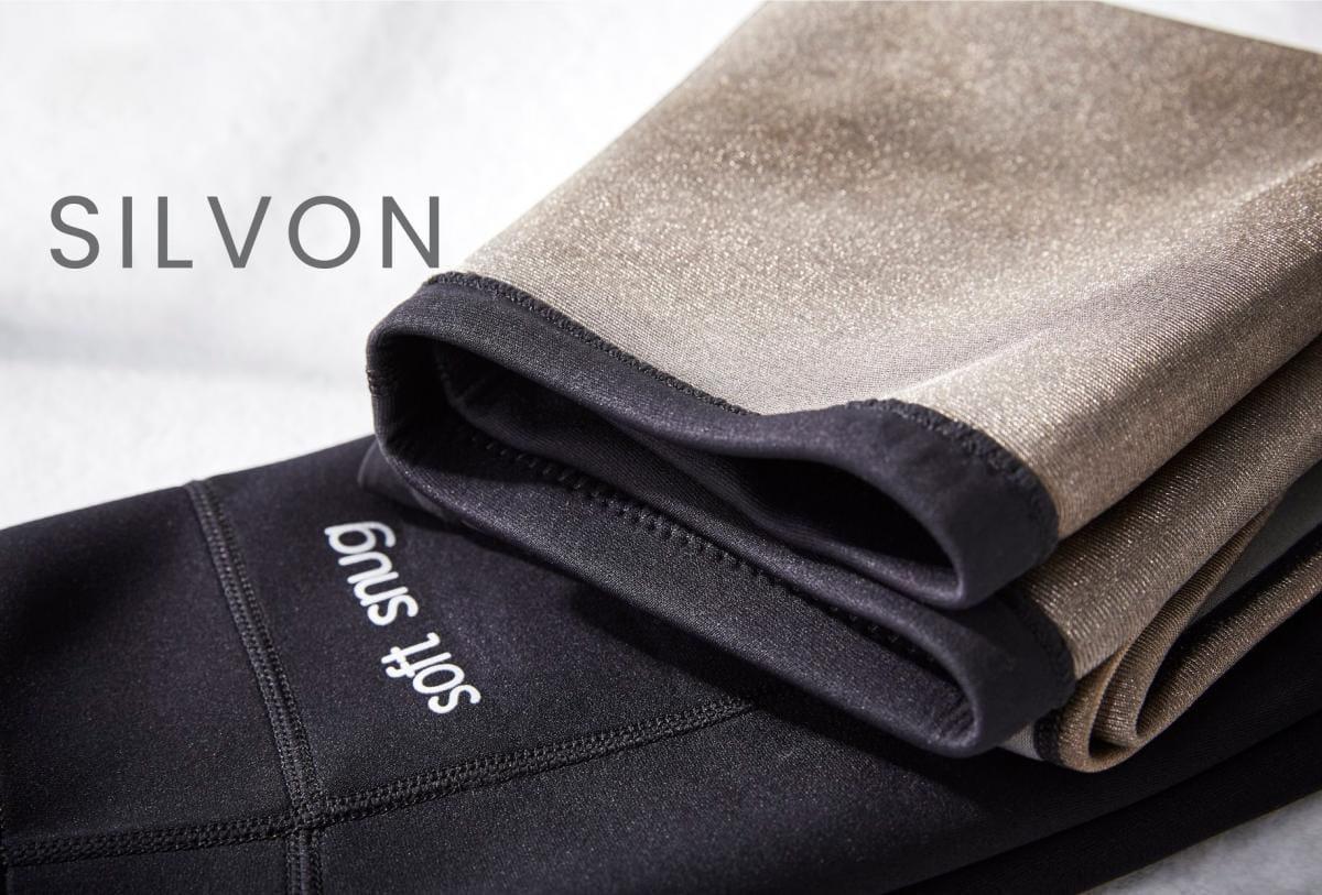 【微笑生活】Soft Snug 銀纖維爆汗九分褲(單口袋) 銀離子 6