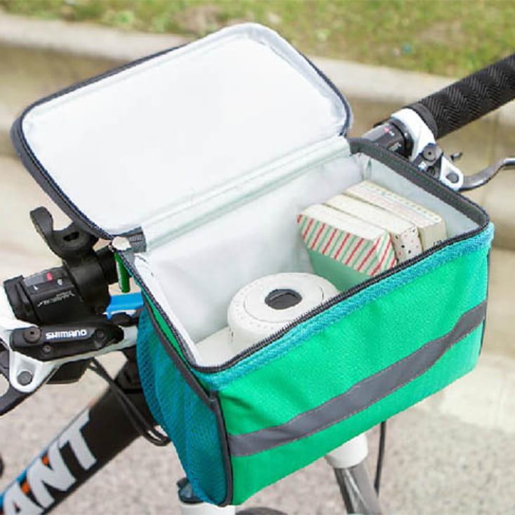 【E.City】大容量自行車手機觸控立體方包 2