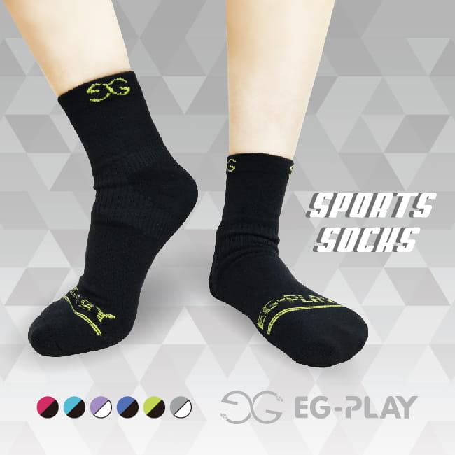 【EG-PLAY】SPORTS SOCKS 足踝支撐機能襪 0