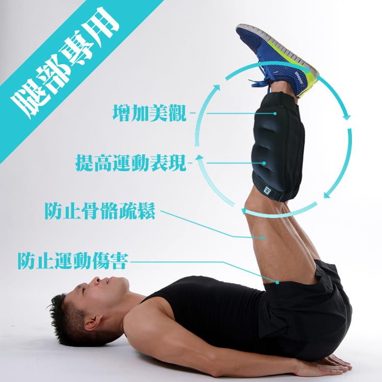 【MACMUS】20公斤長襪型運動沙包 單邊10公斤腿部專用負重沙袋 適合健走、慢跑等運動 2