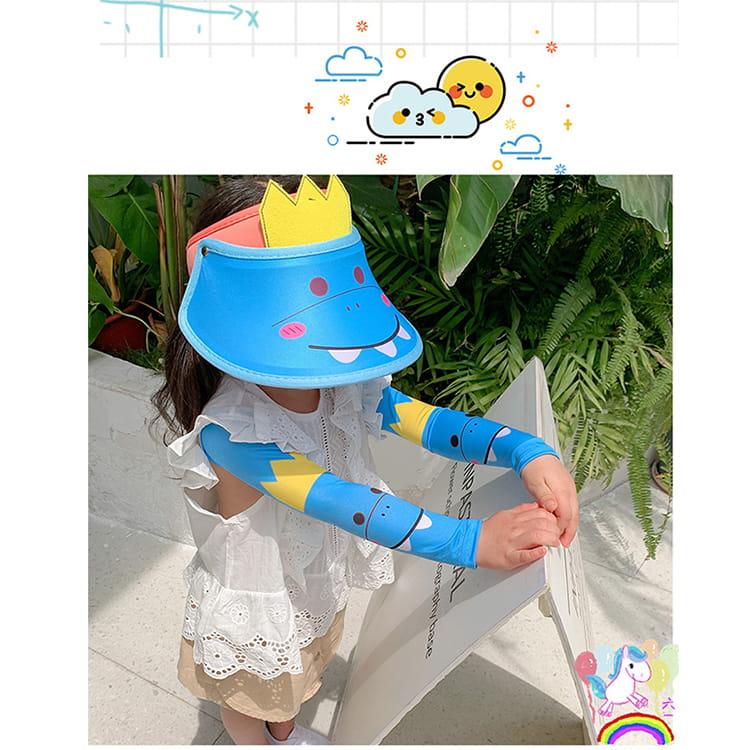 【JAR嚴選】兒童涼感防曬遮陽帽 (送袖套) 10