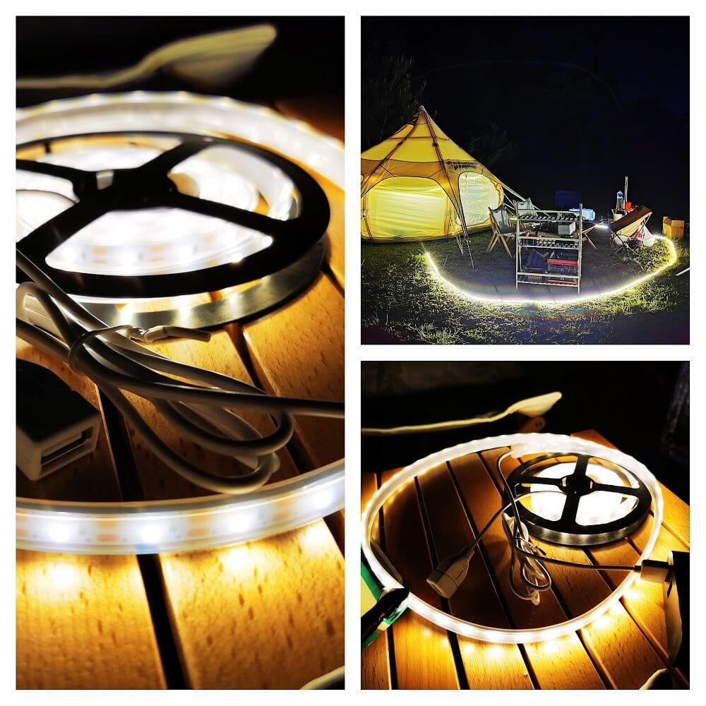 露營燈LED多功能防水帳篷天幕燈帶多種顏色VIDALIDO 4