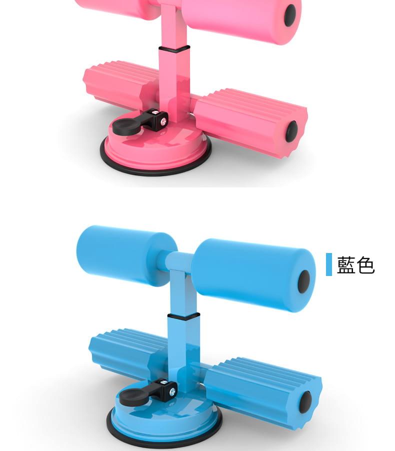 簡易仰臥起坐輔助器卷腹運動壓腳吸盤式吸地固定腳器健身器材家用 16