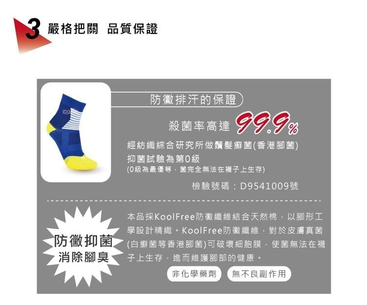 【旅行家】籃球吸震短襪 5