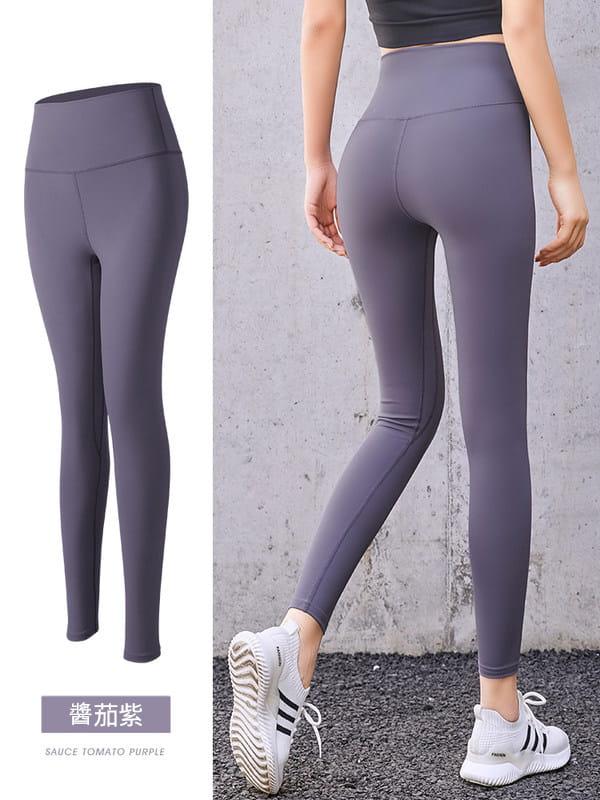 (快速出貨)女瑜伽健身褲 (提臀緊身收腹) 4
