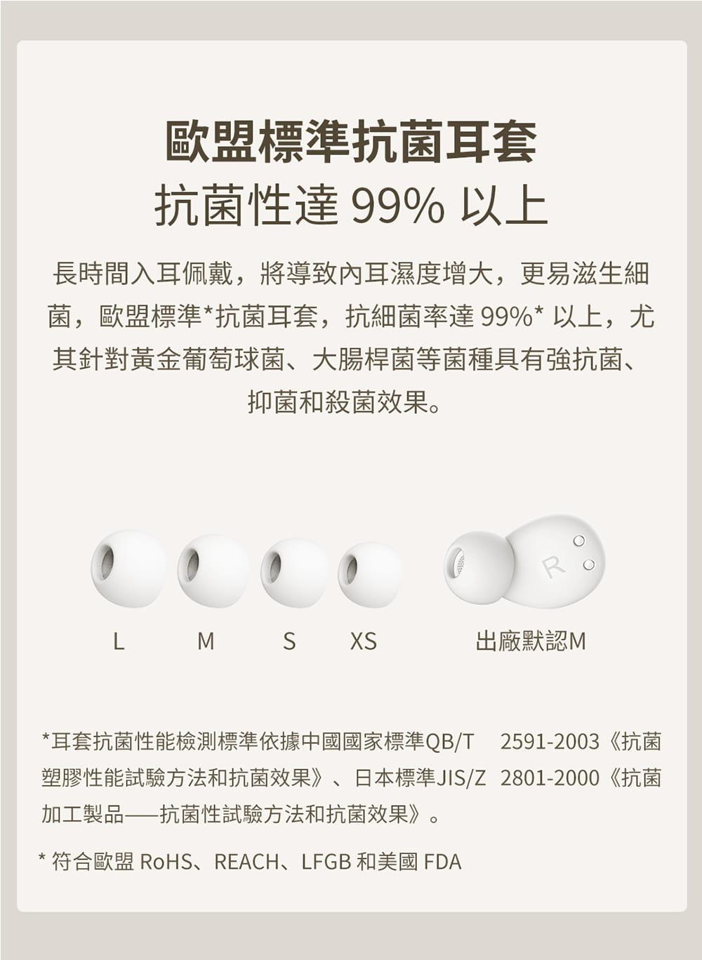 1MORE ComfoBuds Z EH601 睡眠豆真無線耳機-白色 10