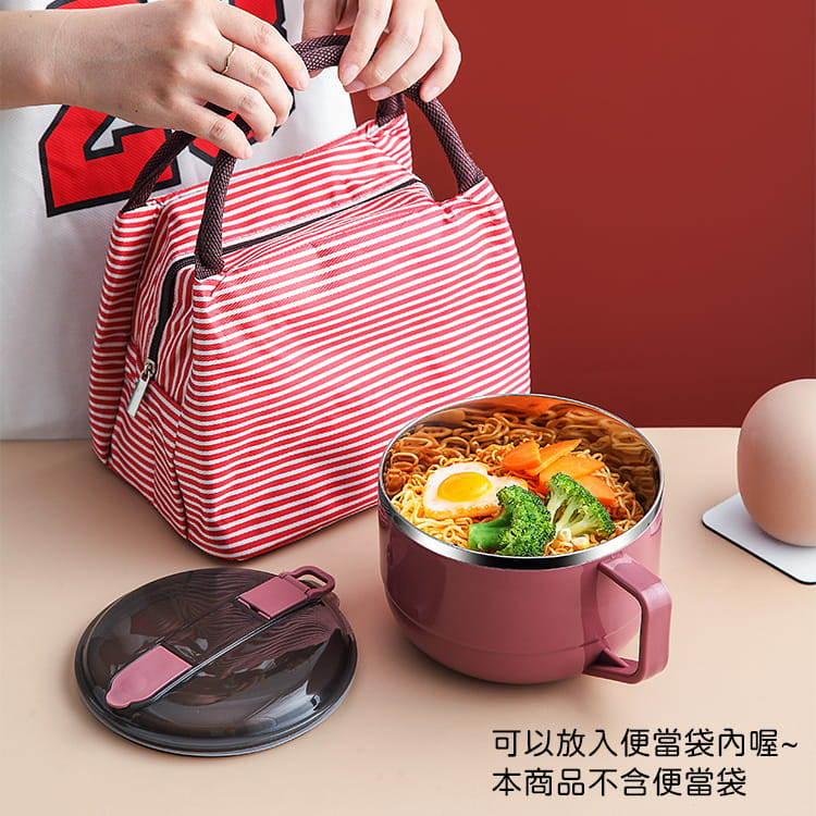 【1300ml】304不鏽鋼泡麵碗 蓋子可瀝水 蓋子可當手機架 SG9139泡麵碗 304不鏽鋼碗 20
