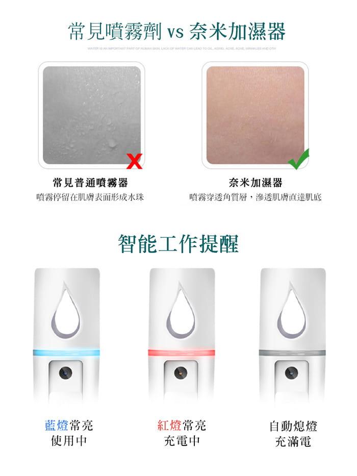 【daho】隨時補水 奈米分子噴霧加濕器 6