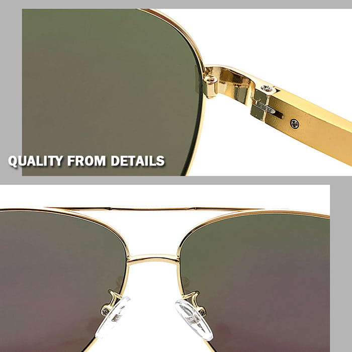 【suns】鋁鎂合金飛行員偏光太陽眼鏡 抗UV (W0201) 7