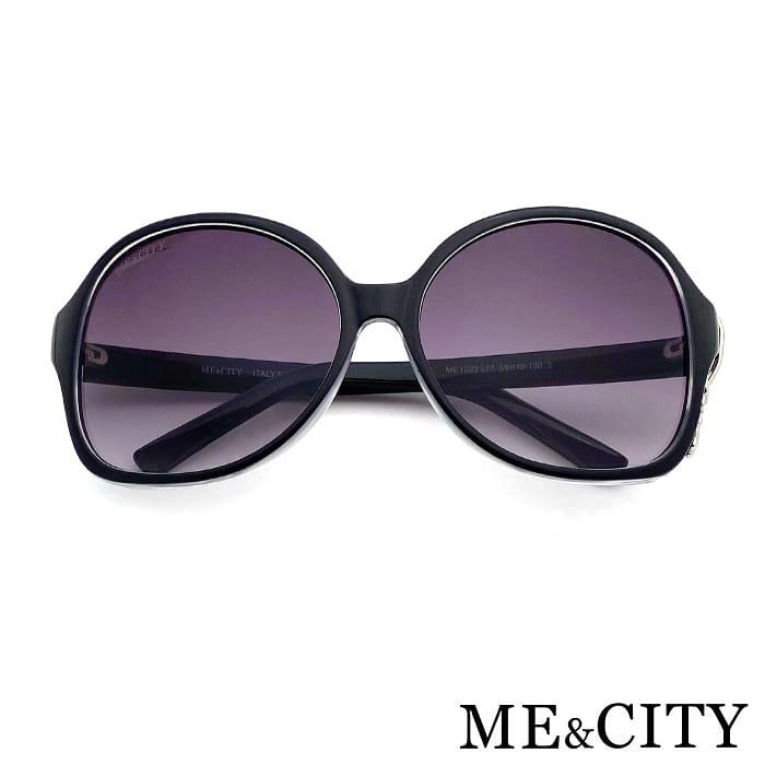 【ME&CITY】 甜美心型鎖鍊太陽眼鏡 抗UV (ME 1223 L01) 5