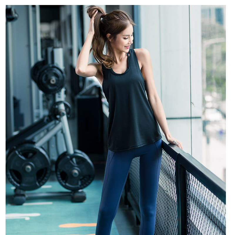 【JAR嚴選】運動健身速乾機能顯瘦背心 8