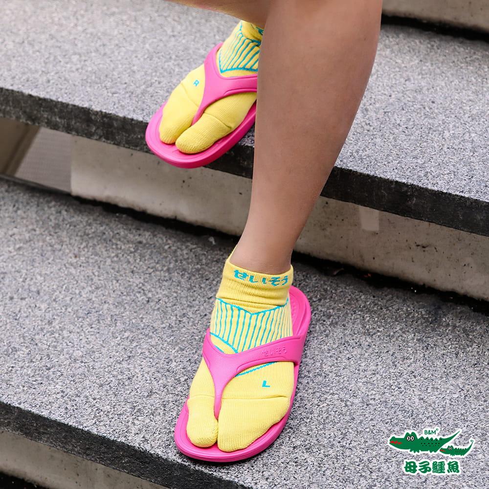 【母子鱷魚】 閃電釋壓兩趾襪 8
