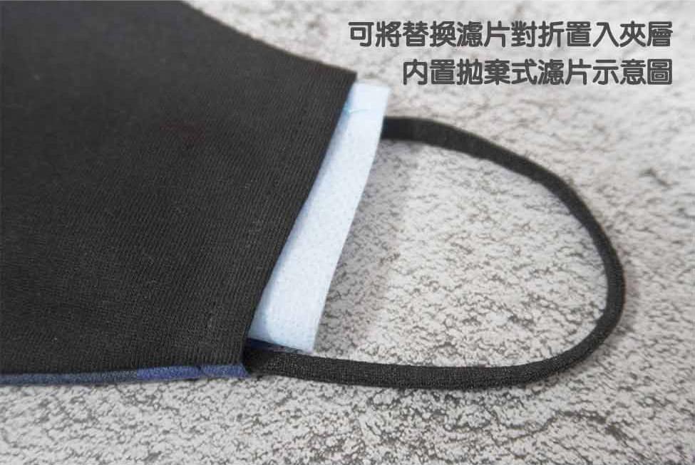 【ELASTI】純棉男士迷彩口罩(買口罩送10片拋棄式濾片) 7