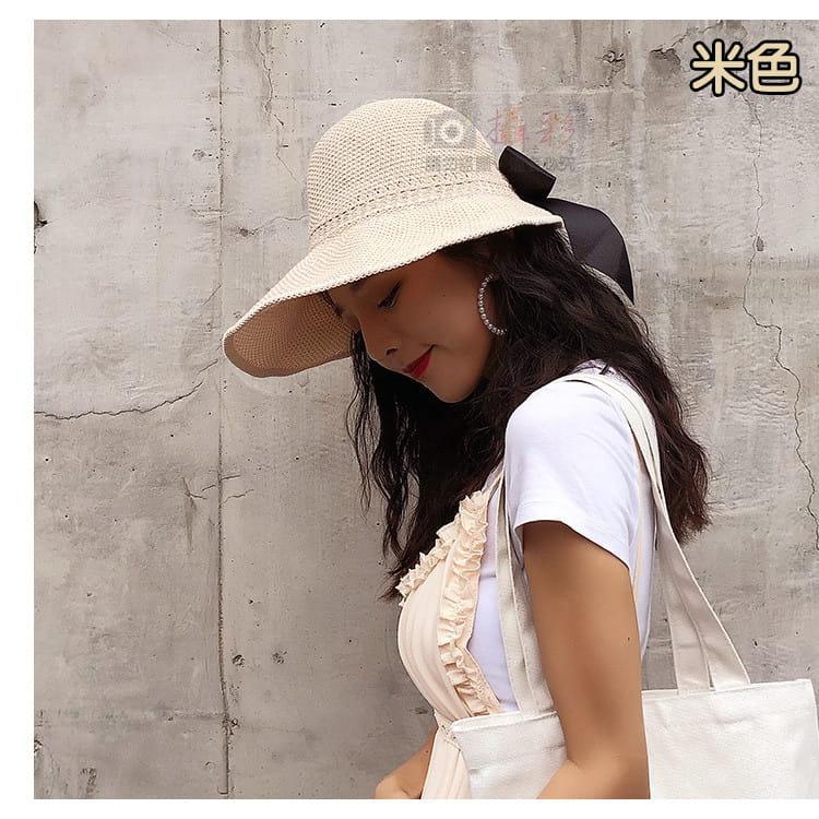 女用空頂遮陽帽 7