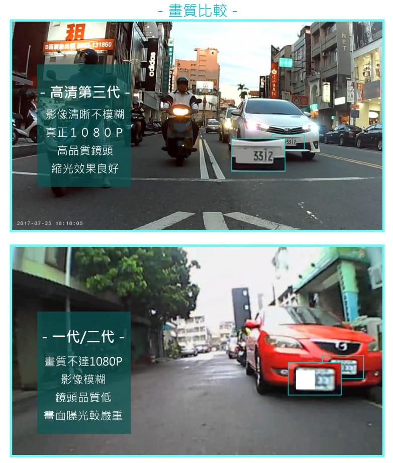 【勝利者】1080P防水雙鏡頭機車行車紀錄器 4