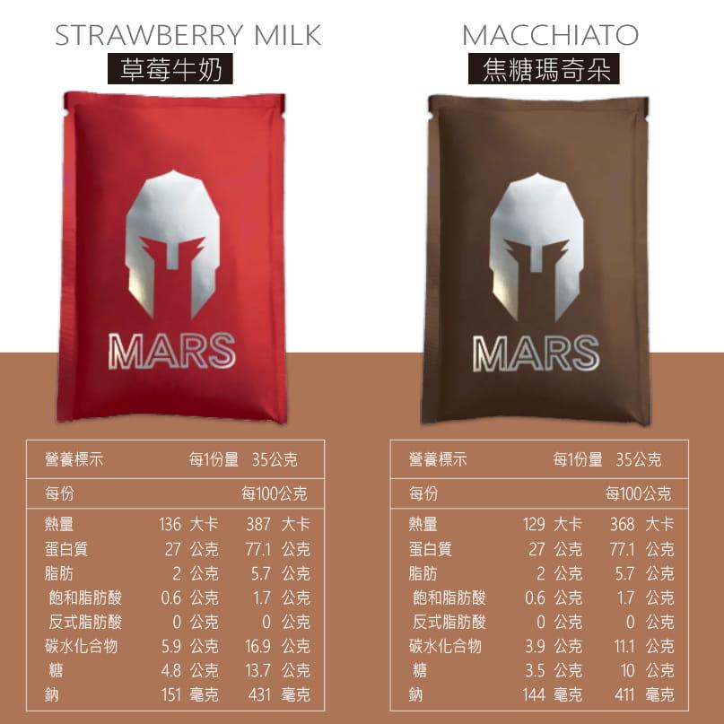 【Mars戰神】MARS戰神 低脂乳清蛋白 彩虹分享包 8