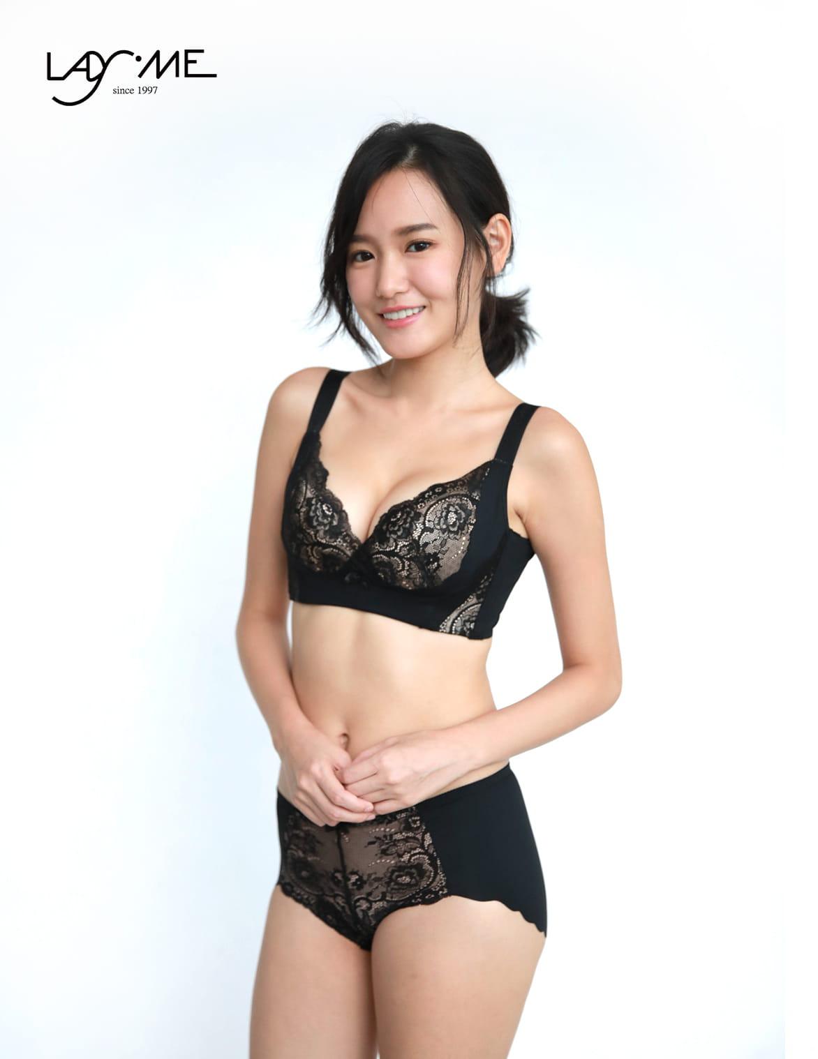【LadyMe】【大罩杯】巴黎情人-浪漫黑 1