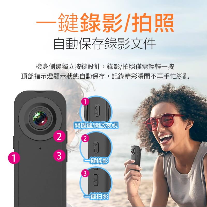 高清1080P夜視微型攝影機 6