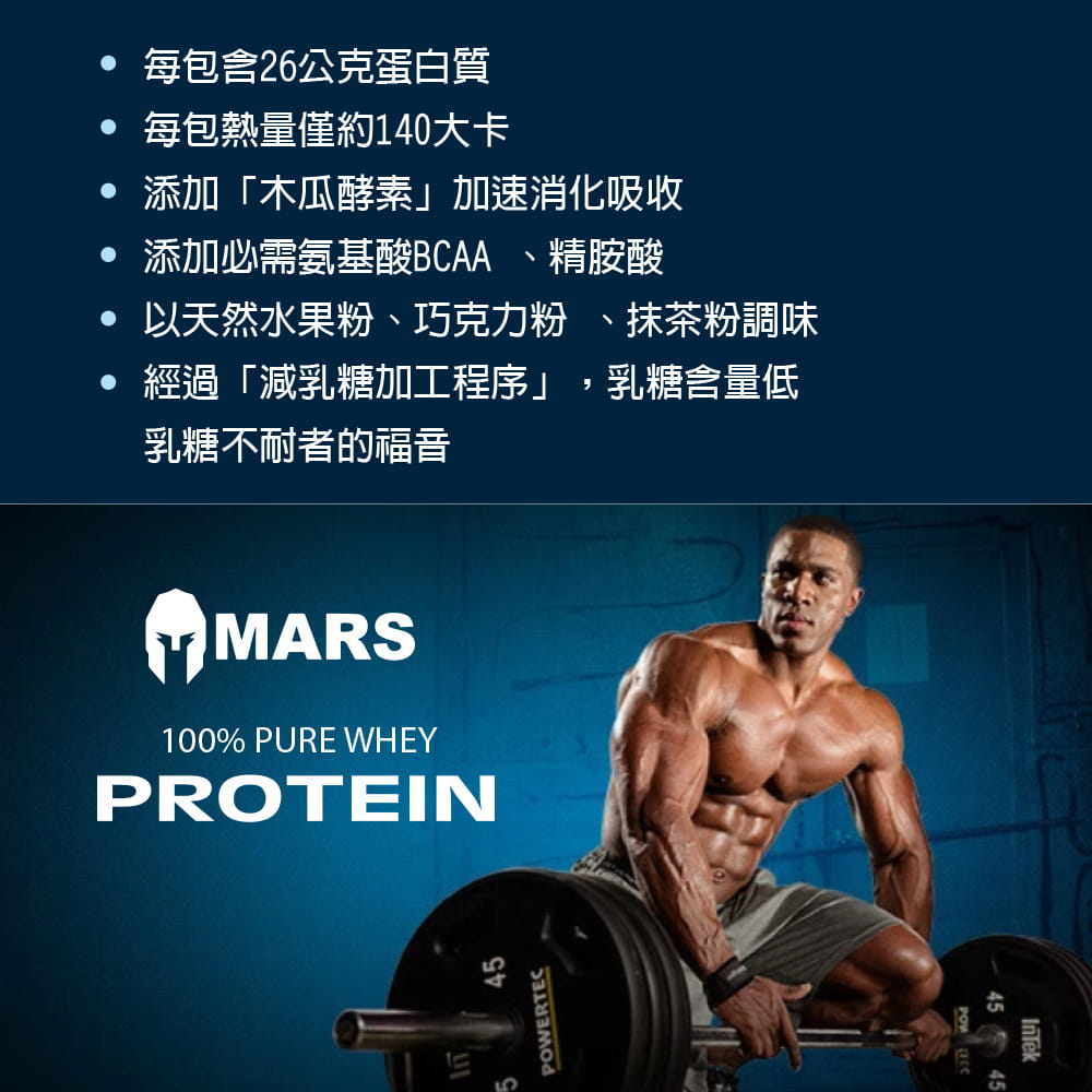 【Mars戰神】MARS戰神 低脂乳清蛋白 彩虹分享包 4