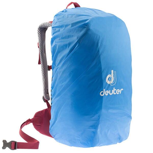 (登山屋)deuter 德國FUTURA透氣網架背包/健行包22SL(3400018莓紅) 1