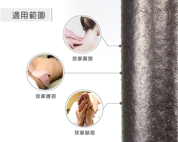 【ABSport】EPP實心瑜珈滾輪(30公分)/瑜珈柱/瑜珈棒/按摩滾輪/瑜珈用品 5
