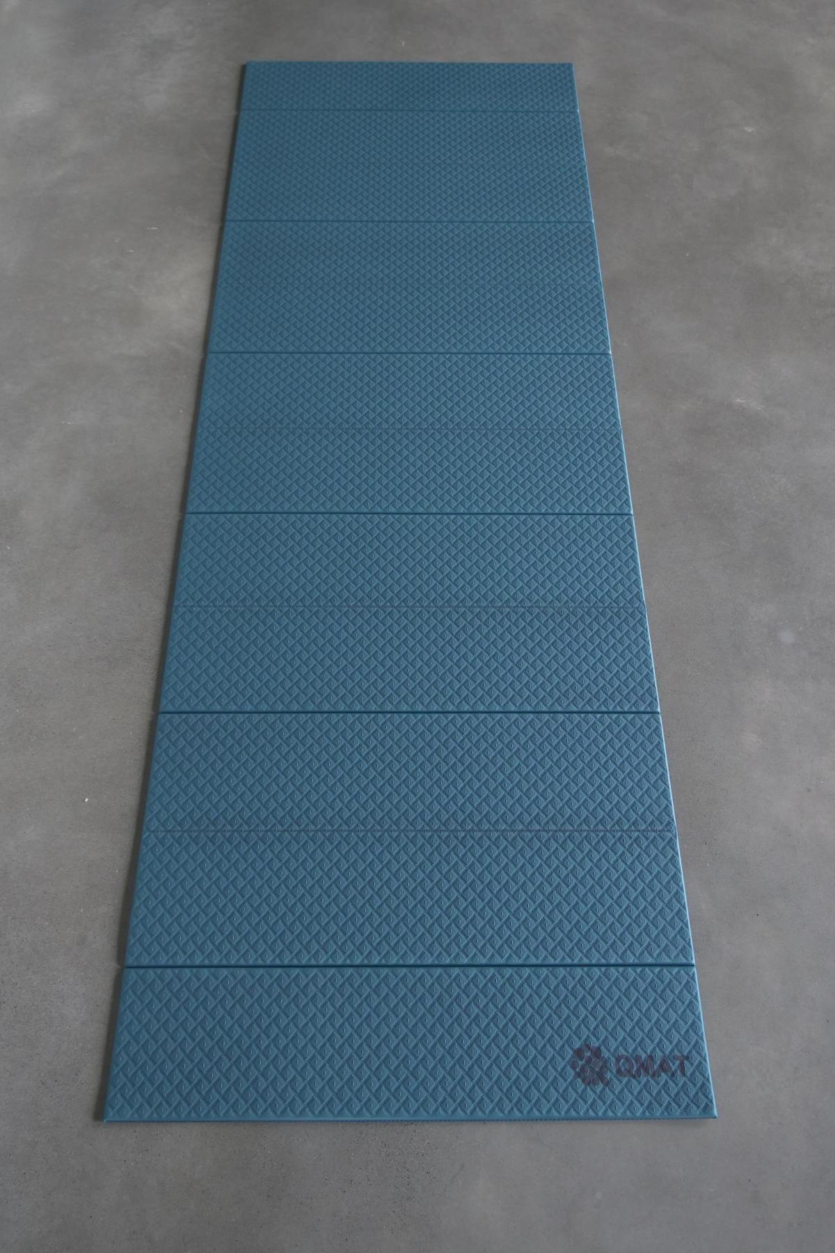 【QMAT】 12折疊瑜珈墊 一般雙色 10